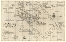 South America Map By Robert Dudley