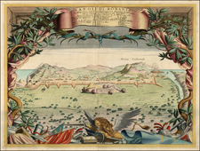 Greece Map By Vincenzo Maria Coronelli