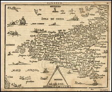 Italy and Balearic Islands Map By Zacharias Heyns