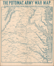 Mid-Atlantic and Southeast Map By Forbes & Co. / Benjamin B. Russell