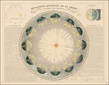 Celestial Maps Map By Eugène Andriveau-Goujon