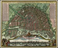 Netherlands Map By Johann Baptist Homann