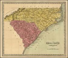 Southeast Map By Jeremiah Greenleaf