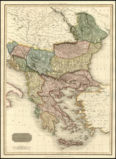 Balkans, Greece and Turkey Map By John Pinkerton