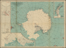 Polar Maps Map By National Geographic Society