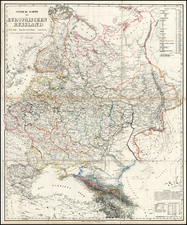 Poland, Russia and Baltic Countries Map By Carl Flemming