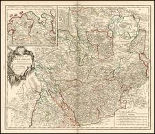 Germany Map By Gilles Robert de Vaugondy