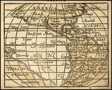 Western Hemisphere, North America, South America, Pacific, Australia, Oceania and America Map By Zacharias Heyns
