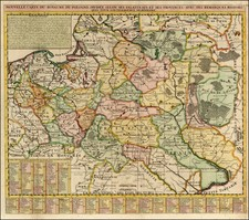 Poland and Baltic Countries Map By Henri Chatelain