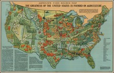 United States Map By Armour & Co.