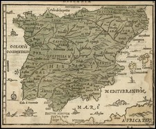 Spain Map By Zacharias Heyns