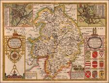 British Isles Map By John Speed