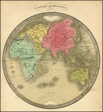 Eastern Hemisphere and Oceania Map By Jeremiah Greenleaf