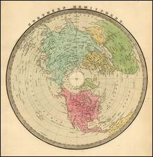 Northern Hemisphere and Polar Maps Map By Jeremiah Greenleaf