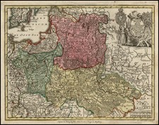 Poland and Baltic Countries Map By Matthaus Seutter
