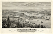 Map By A.L. Bancroft & Co. / Eli Sheldon Glover