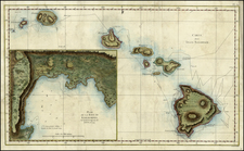 Hawaii and Hawaii Map By James Cook