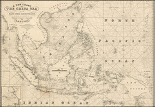 China, Southeast Asia, Philippines and Other Islands Map By Blachford & Co.