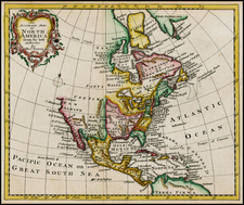 North America Map By Thomas Bowen