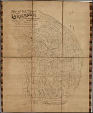 California Map By Benjamin P Ward