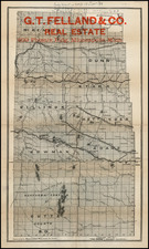 Plains Map By Geographical Publishing Co.