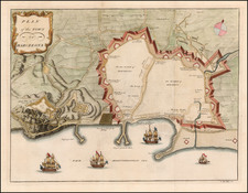 Spain Map By Paul de Rapin de Thoyras