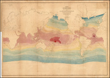 World Map By Charles Wilkes
