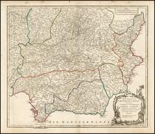 Europe Map By Gilles Robert de Vaugondy