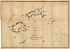 New Zealand Map By Charles Wilkes