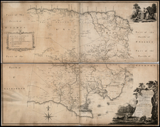 Caribbean Map By Thomas Craskell  &  James Simpson