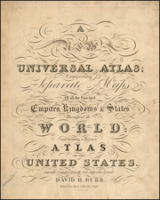 Title Pages Map By David Hugh Burr