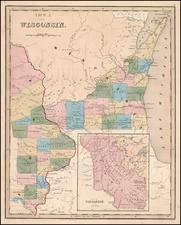 Midwest and Plains Map By Thomas Gamaliel Bradford
