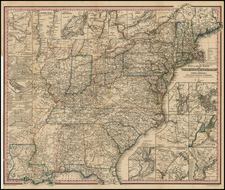 United States Map By Traugott Bromme