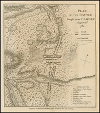 Southeast Map By Charles Stedman