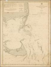New England Map By U.S. Coast & Geodetic Survey
