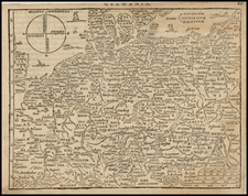 Netherlands, Germany, Poland, Hungary, Baltic Countries and Italy Map By Zacharias Heyns