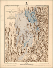 Southwest Map By George M. Wheeler