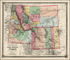 Plains and Rocky Mountains Map By H.H. Lloyd