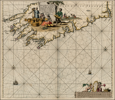 Ireland Map By Johannes Van Keulen