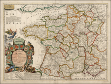 France Map By Jean-Baptiste Nolin