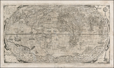 World and World Map By Paolo Forlani