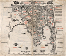 China, Southeast Asia, Other Islands and Central Asia & Caucasus Map By Bernardus Sylvanus