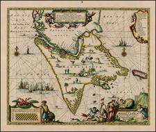South America Map By John Ogilby