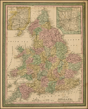 Europe and British Isles Map By Thomas, Cowperthwait & Co.