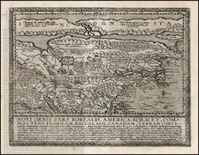 Polar Maps, North America and Canada Map By Matthias Quad