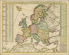 Europe Map By Henri Chatelain