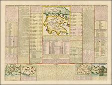 Greece Map By Henri Chatelain