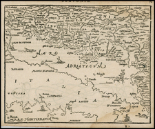 Balkans and Italy Map By Zacharias Heyns