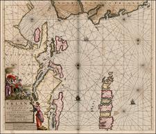 Scotland and Ireland Map By Johannes Van Keulen