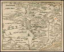 Switzerland and France Map By Zacharias Heyns